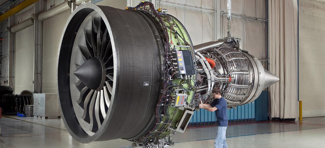 Fabricación de componentes de avión