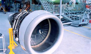 Fabricación de componentes de aeronaves
