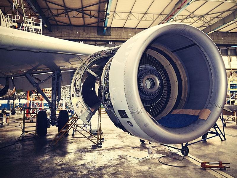 Fabricación de piezas para el sector aeroespacial
