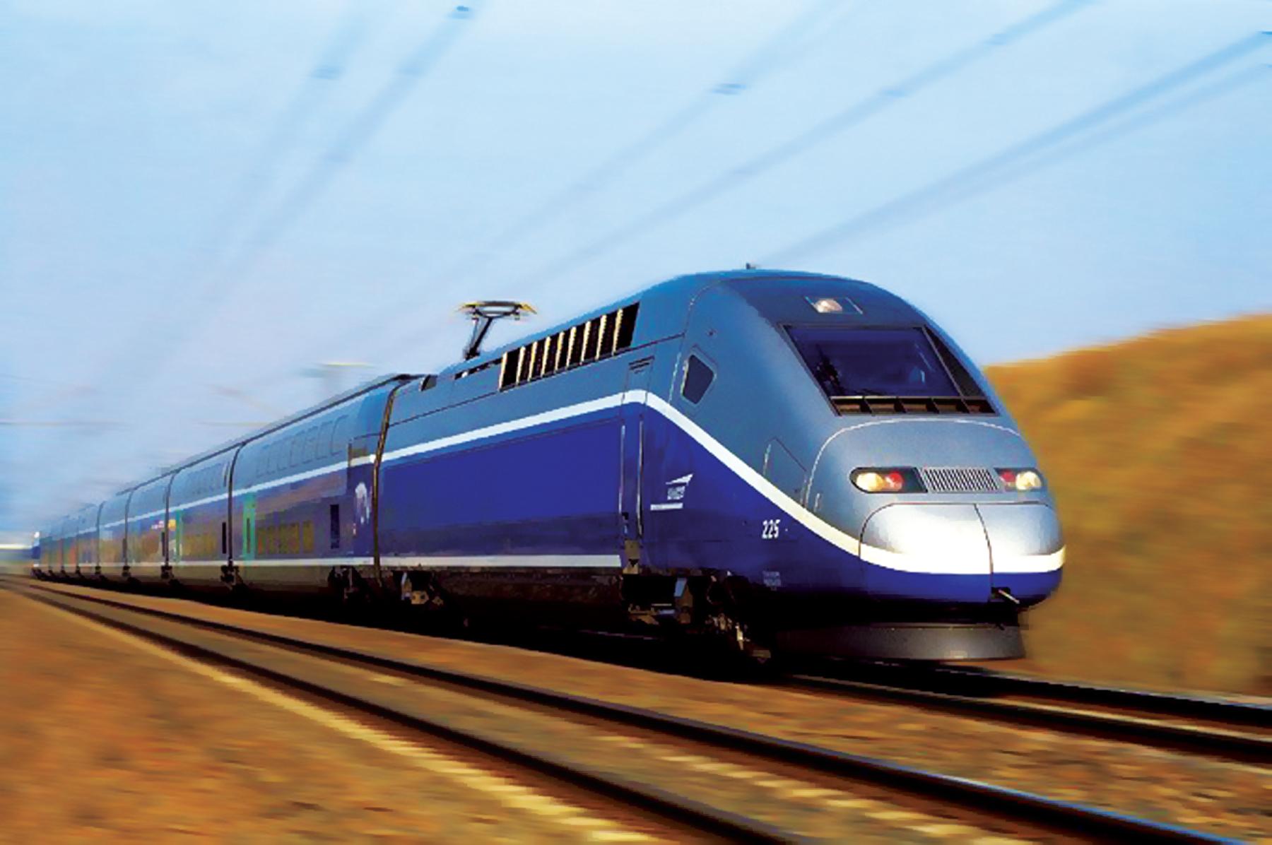 Fabricación de piezas para trenes