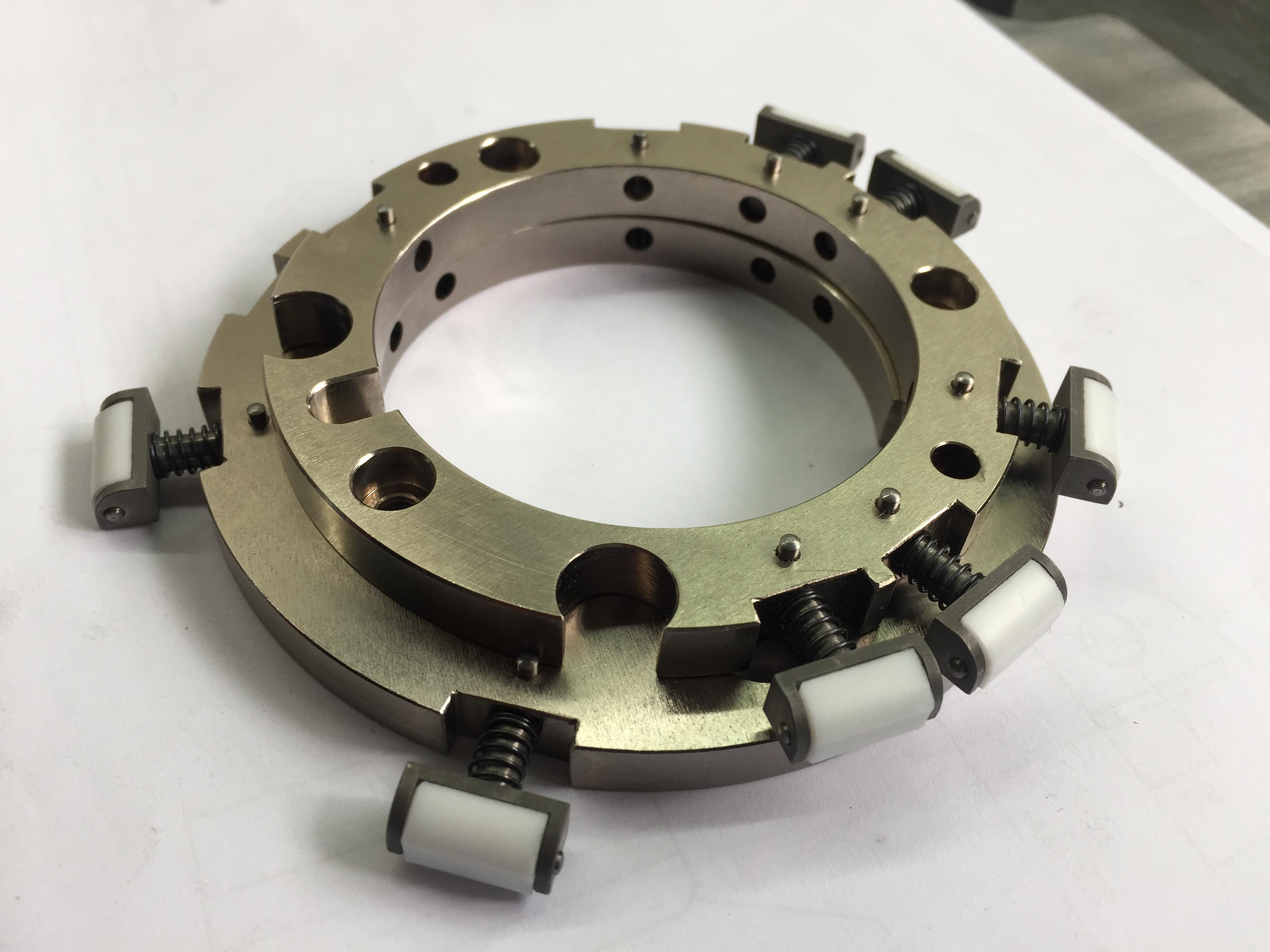 Fabricación de piezas de acero inoxidable