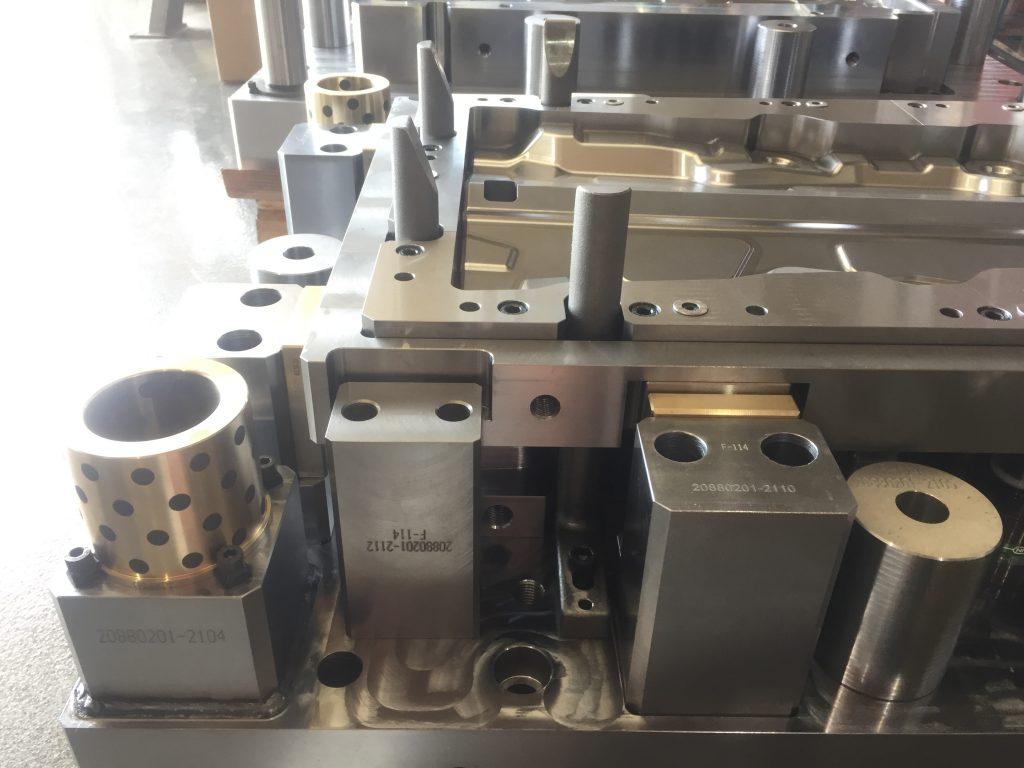 Utillajes para el mecanizado de componentes