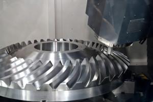 Mecanizado de piezas de acero