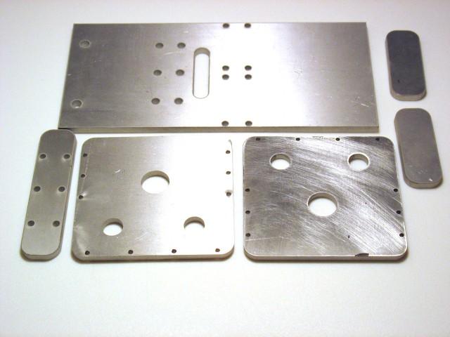 Mecanizado de piezas de aluminio