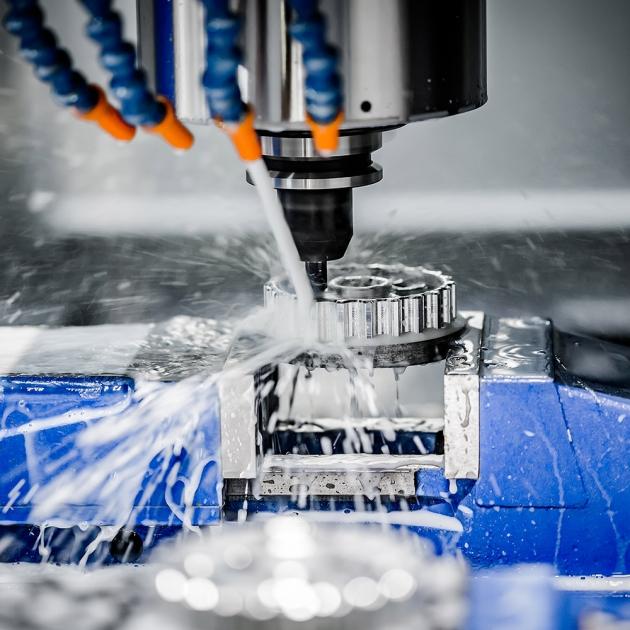 Fabricación de piezas para maquinaria