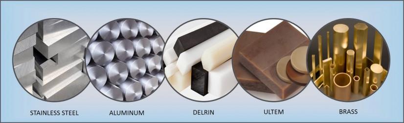 Tipos de materiales en el mecanizado